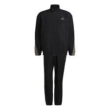 adidas Performance Herren Trainingsanzug sportswear Metallic inserts schwarz