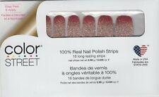 COLOR STREET Nail Strips Coral Bay 100% Nail Polish -Made in the USA!