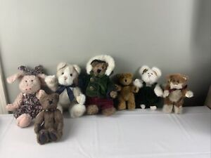 The Boyds Collection, Boyds Bear lot (7) gently used 1990/98