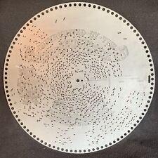 Antique Original Regina Music Box Disc 15.5� Light Cavalry Overture Suppe #1437
