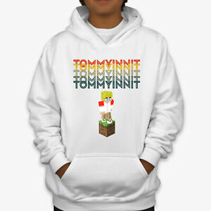 Tommyinnit Dream SMP Kids Hoodies Youtuber Merch Gamer Gaming Boys Hoody Gifts