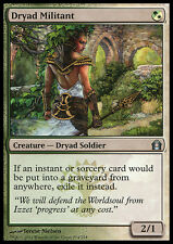DRYAD MILITANT NM mtg Return to Ravnica Green/White - Dryad Soldier Unc