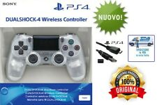 CONTROLLER SONY V2 BIANCO CRYSTAL WIRELESS PS4 DUALSHOCK 4 NUOVO DA ITALIA