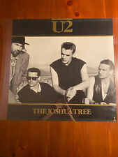 U2 1987 Joshua Tree Promo Poster 24 X 24 Original Vintage Print