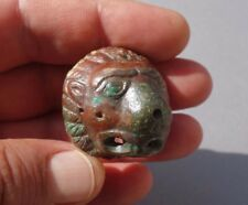 Roman bronze military fitting Phalera (military medals) in shape of wild cat