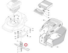 Mountfield SP185 gasolina cortadora de césped hoja jefe 122465607/3 2015-2016 Modelo