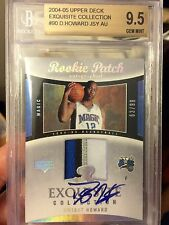 Dwight Howard Exquisite Collection BGS 9.5 rookie