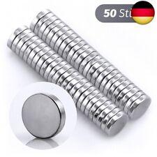 10 Stück Extra starke Neodym Magnete 5 x 2 mm Scheiben runde 5mm x 2mm 5x2mm