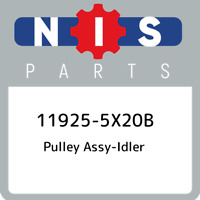 11925-5X20B Nissan Pulley assy-idler 119255X20B, New Genuine OEM Part