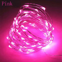 Connector LED String Fairy Lights 10M 33ft 100led Copper Wire Party Decor