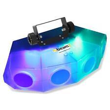 beamZ Mini-Moonflower Lichteffekt mit 4-LED-Linse 132xRGBA-LEDs transparent