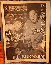 RL BURNSIDE interview 2-Live Crew 1999 Rebecca Lord metal HELLOWEEN Rocket 88