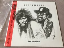 "RON WOOD & BO DIDDLEY, LIVE AT THE RITZ, 12"" LP ALBUM JAPAN 1988 (AS NEW)"