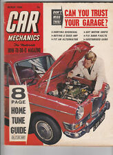 CAR MECHANICS Magazine March 1966 - Ford Cortina