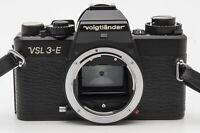 Voigtländer VSL3-E VSL 3-E Body Gehäuse SLR Kamera Spiegelreflexkamera schwarz