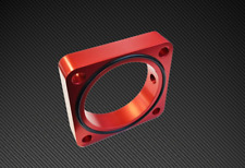 Torque Solution Throttle Body Spacer Red for 2013+ Subaru BRZ / Scion FR-S