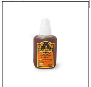 Gorilla Glue 60ml Bottle Wood/Metal/Stone/Glass Waterproof Adhesive 1044202