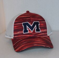 New NCAA OLE MISS REBELS One Size THE GAME CAP HAT SNAPBACK TRUCKER MESH