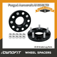 """2PC 15mm Wheel Spacers for Nissan 350Z 300ZX 5x4.5"""" 114.3MM 66.1 12x1.25 Studs"""