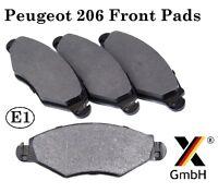 Peugeot 206, 306 & Xsara Front Brake Pad Set (4 pads Bosch system) NEW Germany