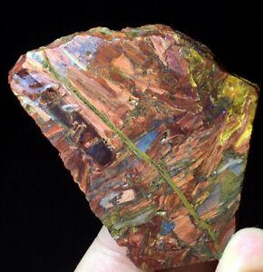 49g Rare natural raw pietersite stone crystal rough healing stone Namibia C194