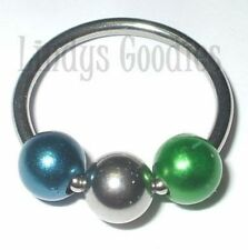 Pearl 14g (1.6 mm) Gauge (Thickness) Body Piercing Jewellery