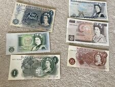 More details for old english various bank notes  ten shillings five ten x 6