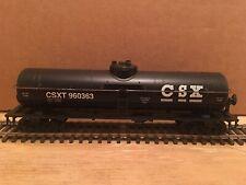 HO Athearn CSX 40' MOW Single Dome Water Tank Car CSXT #960363 Work Train