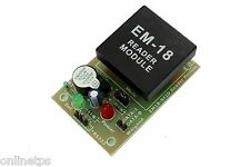 EM18 RFID Reader Module Board ,TTL Out for Electronic Projects/DIY+2 RFID Cards