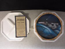 Star Trek: The Voyagers U.S.S. Enterprise ~ Hamilton Plate ~  COA #3666B