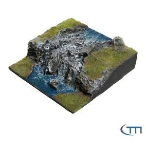 Tabletop | Gelände | Terrain Flussmodul Wasserfall 1
