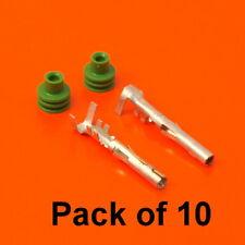 10 x GENUINE DELPHI Female Pin Terminals & Joints-Weather-Pack Scellé Série