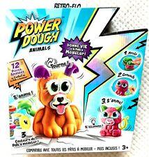 Pate a Modeler - Power Dough Crazy Animals - Canal Toys NEUF