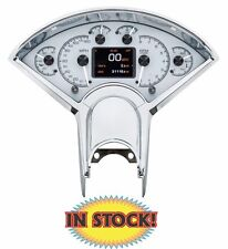 Dakota Digital 1955-56 Chevy Car HDX Gauge Kit Silver - HDX-55C-S