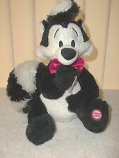 Pepe Le Pew Warner Brothers Hallmark Super Soft Plush Doll