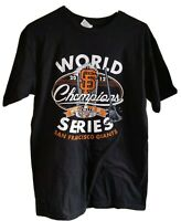 San Francisco Giants World Series 2012 Champions sweep t-shirt team roster sz M