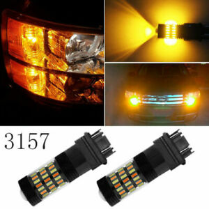 3057 3157 Switchback LED Turn Signal Light No Hyper Flash for Dodge Jeep 2x
