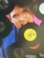 "CURE Robert the vinyl muncher magazine PHOTO / Pin Up / Poster 11x8"""