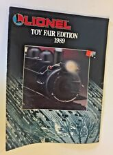Vintage 1989 Lionel Trains Toy Fair Edition Catalog Toy Electric Accessories