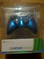Xbox 360 Wireless Controller Blue / Manette Bleu Chrome Series Special