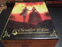 """COFFRET 6 DVD + 3 LIVRETS """"LE CHEVALIER D'EON - L'INTEGRALE"""" manga"""