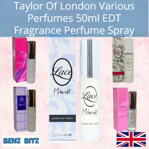 Taylor Of London Various Perfumes Tweed Chique Panache Lace 50ml EDT Spray