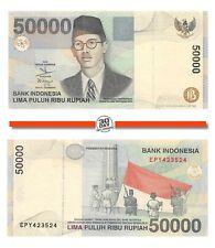 Indonesia 50000 Rupiah 1999/2005 Unc Pn 139g