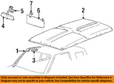 GM OEM Interior-Roof-Inside Rearview Rear View Mirror 30010685