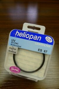 Brand new Heliopan UV SH-PMC Multicoated 67 mm Slim filter