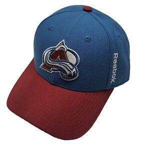Reebok Colorado Avalanche Structured Adjustable Hat- New