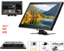 Monitor HDMI VGA Schermo LCD TFT 10.1 POLLICI 1080p Altoparlante BNC USB