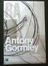 ANTONY GORMLEY Royal Academy    2019 ART EXHIBITION POSTER