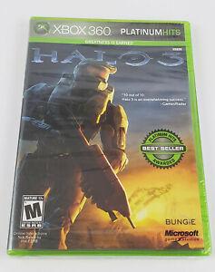 Halo 3 Platinum HIts Xbox 360 2007 Factory Sealed