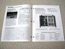Technics SL-Z1000 CD transport / SH-Z1000 processor brochure